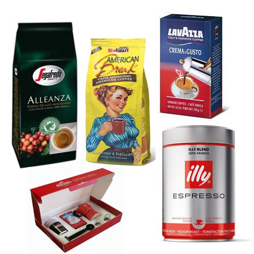 دانه قهوه ایتالیایی