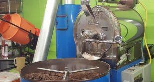 روست دانه قهوه