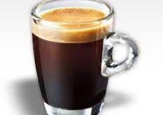 دانه قهوه خامه ای
