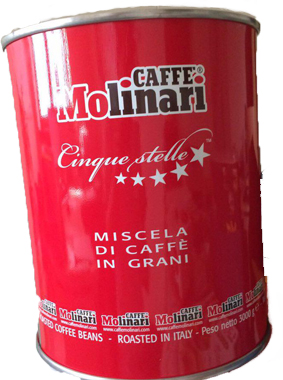 دانه قهوه مولیناری