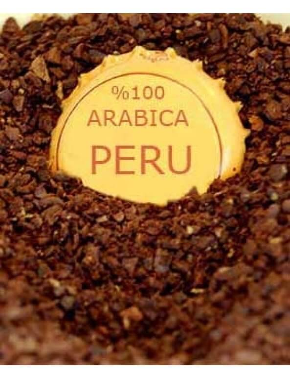 دانه قهوه اسپرسو عربیکا پرو