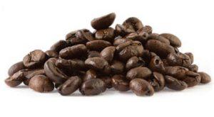 دانه قهوه پی بی
