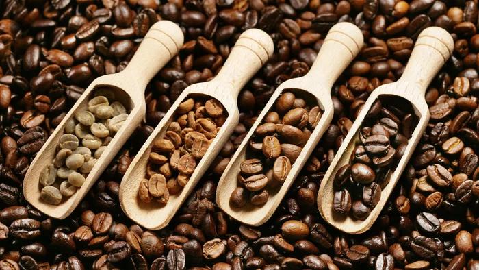 بازار انواع قهوه